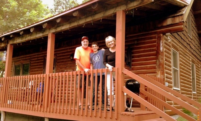 Gift of vacation cabin aids flood recovery in Greenbrier Valley