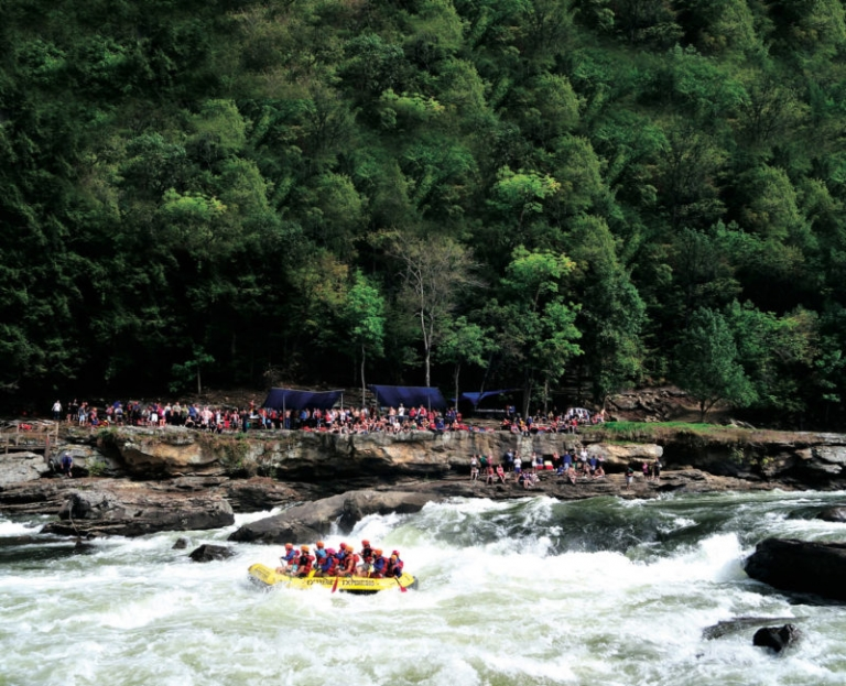 Four more weeks of rafting left during Gauley Season 2017