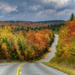 The autumn leaf change in West Virginia peaks in the Allegheny Highlands. Photo courtesy Rick Burgess