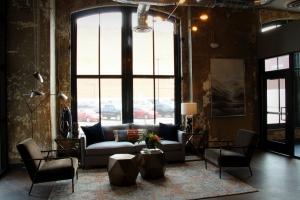 Boury Lofts Lobby at Wheeling W.Va .