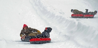Canaan Valley Snow Tubing