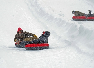 Canaan Valley Snow Tubing