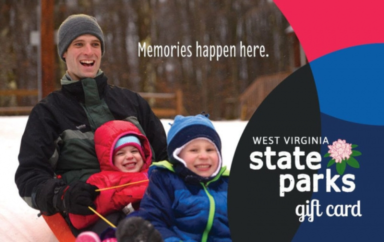 W.Va. State Park gift cards include