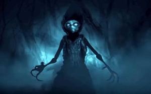 Flatwoods Monster Illustration