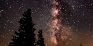 The Milky Way glitters above Dolly Sods, in one of the darkest reaches in the eastern U.S.