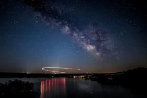 Milky Way at Summersville Lake Anne Johnson