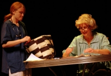 Kimberly King and Stephanie Bachman perform Dwayne Yancey's The Picture Window in 2017