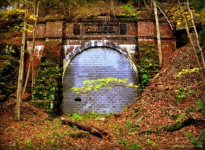 Former B&O Tunnel near Littleton in Wetzel County