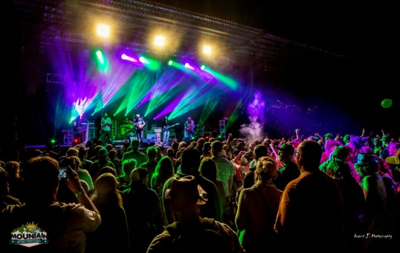 BIG Something performs at Mountain Music Festival