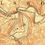A U.S. Geologic Survey map shows the Jug as it appeared in 1924.