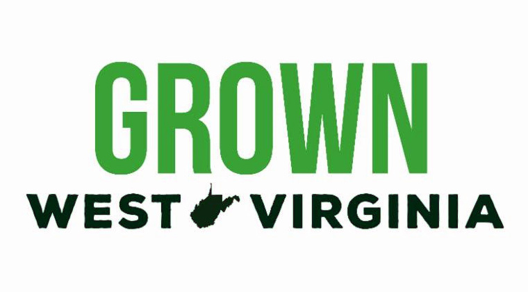One of three logos the public can help choose to promote the new W.Va. Grown program.