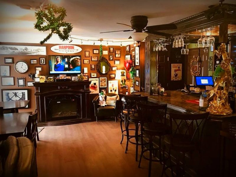 Warm welcomes await guests at Maggies Pub