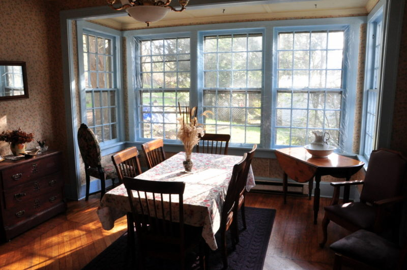 Dining Room at the Garvey House