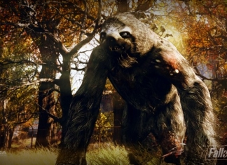 The megasloth from Fallout 76.