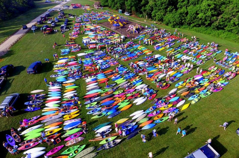 West Virginia kayaking fest may now be nation's largest