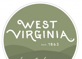 "The West Virginia Tourism Office's 2018 campaign for the state's birthday features ""Almost Heaven"" stickers to be featured in social media posts."