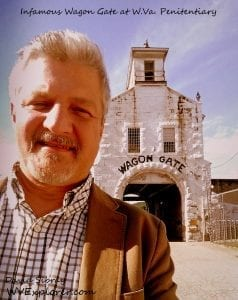 David Sibray visits the infamous Wagon Gate at the West Virginia State Penitentiary.