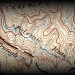 A highlight from an 1893 map shows Polemic Run.