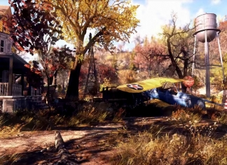 A landscape featured in Fallout 76 includes architecture from an earlier era that still exists in West Virginia.