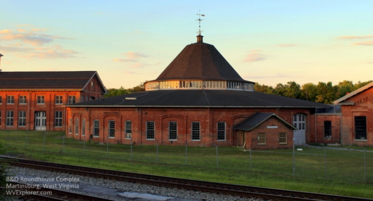 B&O Roundhouse remarkable railroading landmark