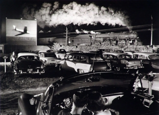 Hotshot Eastbound (1956), taken at a drive-in theater in Iaeger, West Virginia, was used in O. Winston Link's book Steam, Steel & Stars.