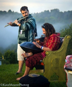 Musicians gather at Culturefest, celebrated annually near Pipestem, West Virginia.