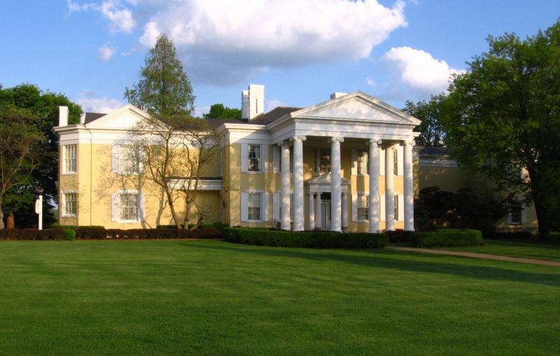 The Oglebay Mansion is the historic focus of Oglebay Park at Wheeling, West Virginia.