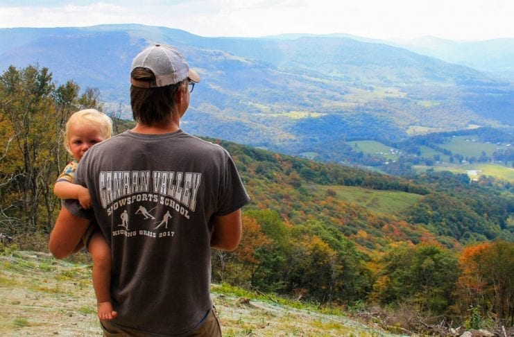 Visitors to Canaan Valley are invariably struck by the early arrival of autumn.