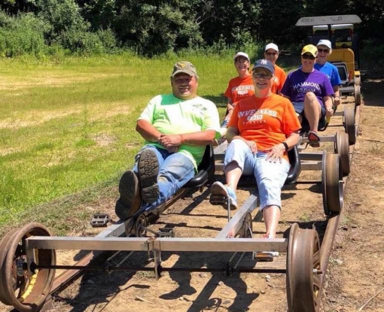Pedal-train excursion leads tourists into remote central W.Va.