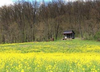 A spiritual retreat at Wellsburg, WV, ranked among AirBnB's wish list properties.