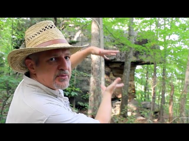 David Sibray visits Ship Rock near Beckley, WV