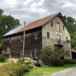 Cook,s Old Mill welcomes visitors at Greenville West Virginia.