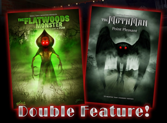 Mothman and the Flatwoods Monster will be featured in a two-part film night at The Elk in Sutton West Virginia, Sept. 14 and 15, 2018.