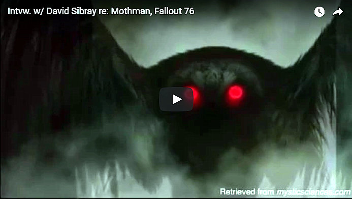Sibray discusses Mothman, role in new Fallout 76 game