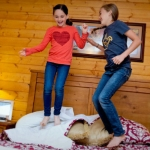 Cabins at River Expeditions are ideal for families.