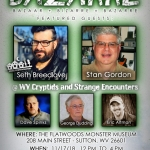 Five authors are scheduled to speak at the Bazzare conference on the paranormal in Sutton, West Virginia.