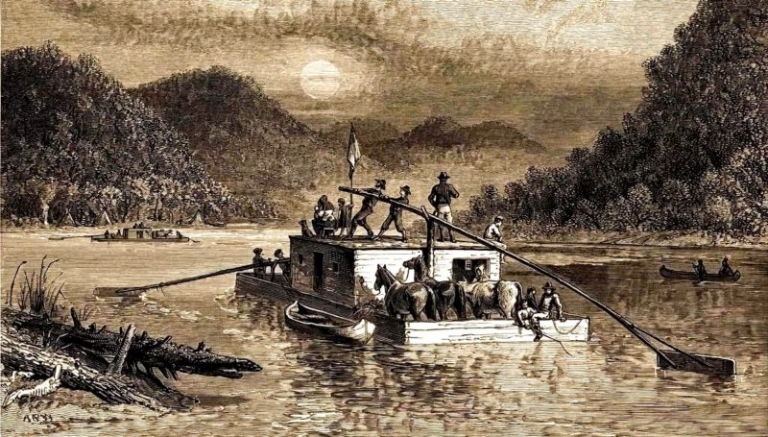 Could a pirate treasure on the Ohio River be lost for good?