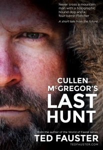 Cullen McGregor peers out out across a mountain fastness during his exposure in a post-apocalyptic West Virginia.
