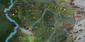 The Fallout 76 map of The Forest includes many features borrowed from central and western West Virginia.