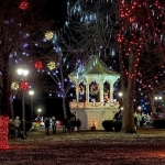 Holiday light displays near Point Pleasant, West Virginia, are attracting visitors to this scenic section of the Ohio Valley.