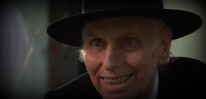 The Reverend Henry Kanes in Poltergeist II reiterates the embodiment of evil in pious form.