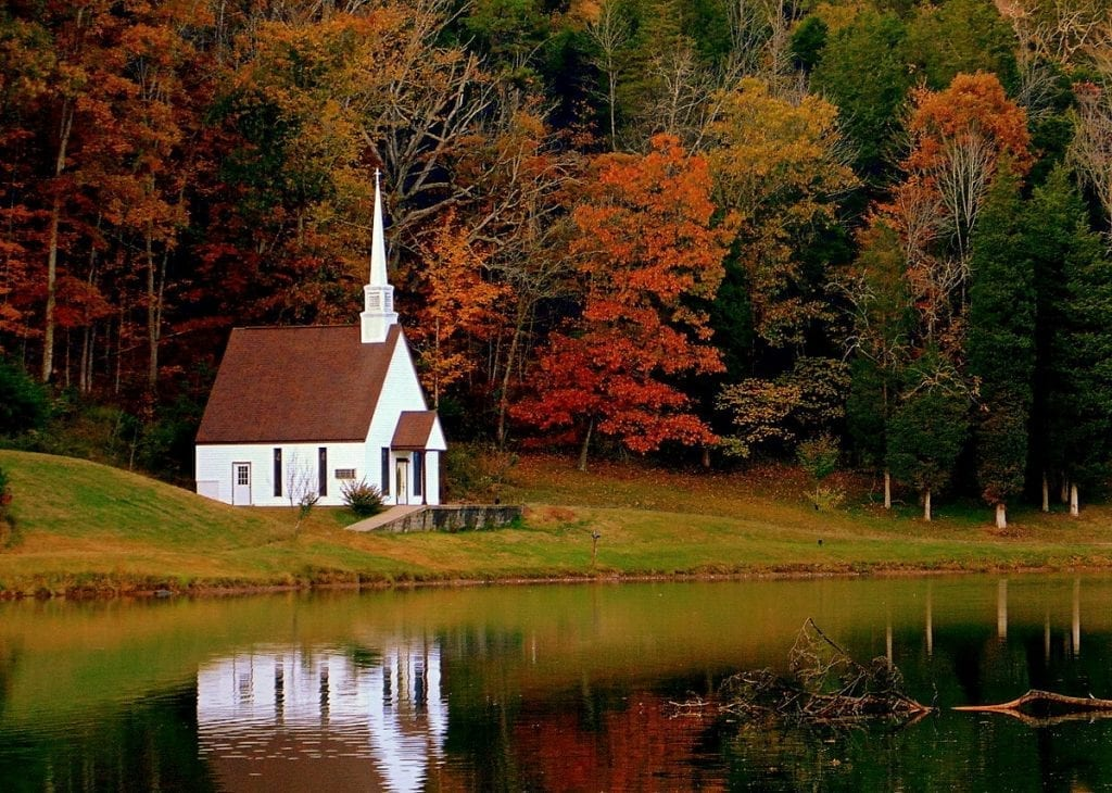 The Memorial Chapel at Rippling Waters Campground is attracting more visitors every year.