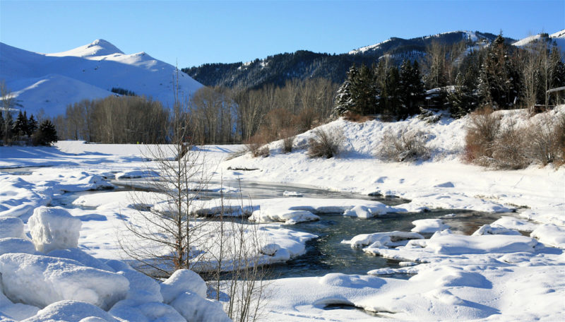 Winter or summer, Sun Valley in Idaho, is a vacation wonderland.