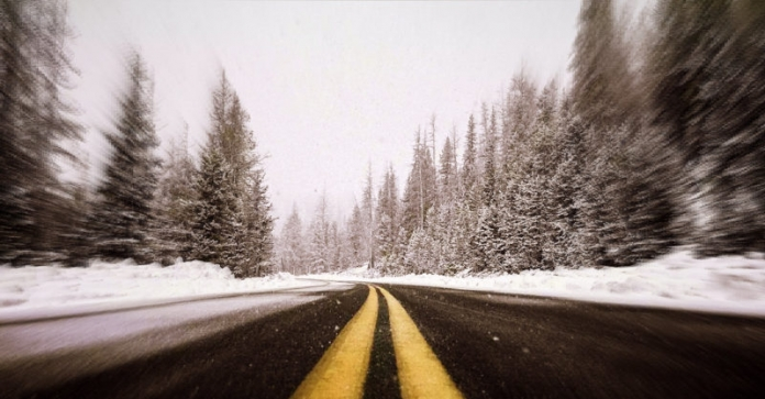 Snowy scenery is a feast for the eyes, but don't neglect the dangers in cycling West Virginia in winter.