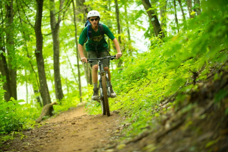 World-class trails at scout reserve now open to mountain bikers