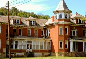 The Tyler County Poor Farm is listed among West Virginia's most endangered historic properties.