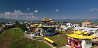 Temples at Ulan Ude