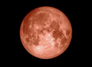 Wolf Moon over West Virginia