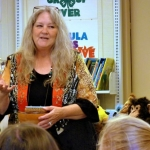 """Professional story-teller Susanna """"Granny Sue"""" Holstein passes West Virginia folklore on to another generation of students."""