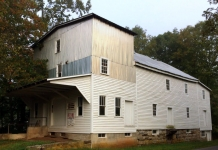 Historic Reeds Mills stands along Second Creek in Monroe County.